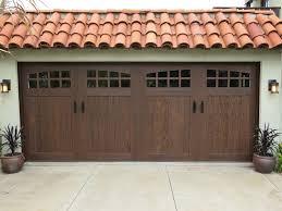 clopay garage door after
