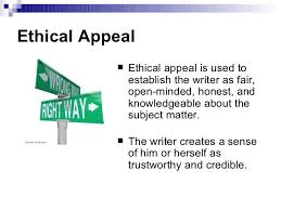 the three appeals of argument ethical