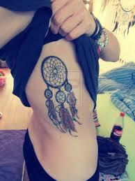 Dream Catcher Tattoo On Side Dreamcatcher Tattoo On Side Rib 75