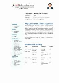 Best Sample Resume For Freshers Engineers Experience Certificate Mechanical Engineer New Resume Format