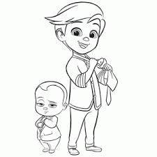 The Boss Baby Coloring Pages Leuk Voor Kids