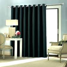 glass door curtains patio coverings sliding treatments ds for medium size of draw half glass door