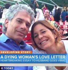 husband of dying w whose essay went viral speaks out daily   if you re looking for a dreamy let s go for