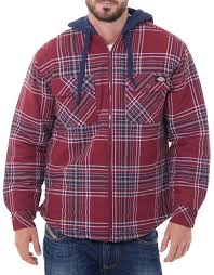 Men's Quilted Flannel Jacket - Dickies US & Men's Quilted Flannel Jacket Adamdwight.com