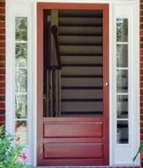 custom wooden storm doors x amish