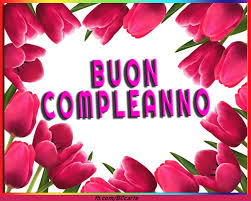 11 immagini di buon compleanno con i fiori. Biglietto Di Auguri Di Compleanno Con Fiori