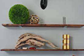 Captivating Custom Made Iron Linear Shelf Brackets ...