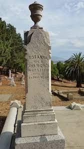 Rosanna McGrath (Unknown-1911) - Find A Grave Memorial