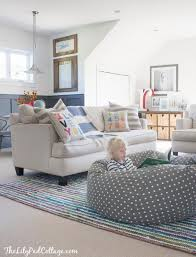 Playroom Living Room Playroom Decor Changes Part 2 Bags Lounge Areas And White Walls