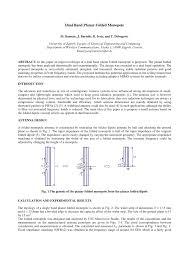 Folded Monopole Design Pdf Dual Band Planar Folded Monopole
