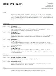 Free Resume Builder And Print Amazing Resume Builder Free Print Free Resume Builder Download Contemporary