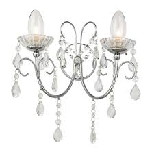 Tabitha wall light ip44 chrome 61385 4224