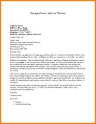 10 Teacher Cover Letter Samples Paige Sivierart