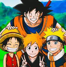 The Main Shonen And The Big Three [Naruto, Bleach, One Piece & Dragon Ball]:  IndiaAnimeClub