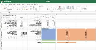 Solved Excel Online Structured Activity Total Cost Of Ow