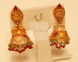 Buttalu Designs Gold Laxmi Jhumkas In 2020 Expensive Necklaces Traditional