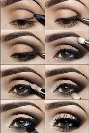 defined crease smokey eye makeup tutorial