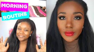 my morning routine spring 2016 i spring makeup skincare hair tutorial you