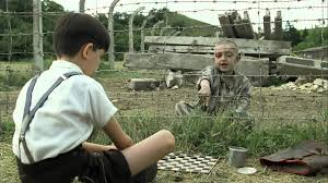 the boy in the striped pajamas although they wash their hair special shampoo to rid their scalps of lice their father thinks that s not enough to cure their problem