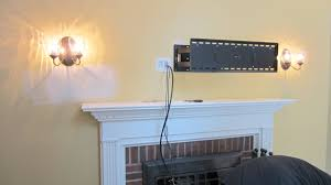 install tv over fireplace hide wires for adorable wall mount above can you a 15