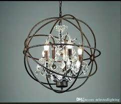 orb light chandelier nickel orb chandelier brushed nickel crystal orb 6 light chandelier brushed nickel orb orb light chandelier