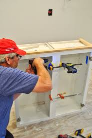 upper kitchen cabinets pbjstories screenbshotb: then before attaching to the wall we needed to add a backer piece to support the attachment of the crown molding i figured out how to do this just by