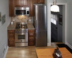 Small L Shaped Kitchen Remodel Kitchen Bright Small Kitchen Design With L Shape Red Small
