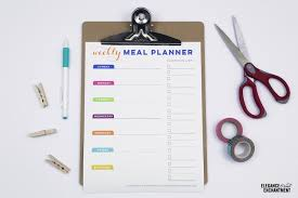 Free Printable Meal Planner