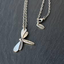 danon jewellery dragonfly long chain necklace jpg