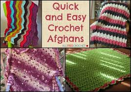 Quick And Easy Crochet Patterns Fascinating Quick And Easy Crochet Blanket Patterns Free Crochet And Knit
