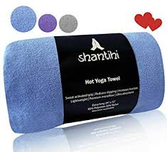shantihi hot yoga towel the best premium yoga mat towel non slip soft