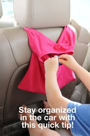 easy t shirt car organizer diy super simple thrifted craft project