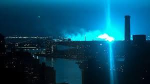 Con Edison Light Transformer Explosion Turns New York Sky Blue