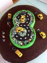 Birthday Cake Designs For 3 Year Olds Birthday Cake Digger Party 3 Year Old Boy Boy Birthday
