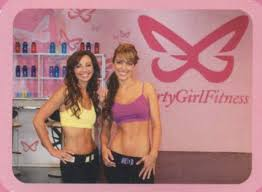 Flirty girl fitness chair dance song
