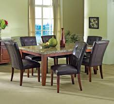 black dining chair covers. Cheap Dining Room Table Sets Black Leather Built Chair Covers Rustic Rectangular Wooden Yellow Flower Vases And I