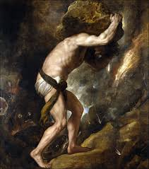 Sisyphos antiker Held