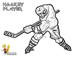 40 Ice Hockey Coloring Pages Ice Hockey Players Colouring Pages