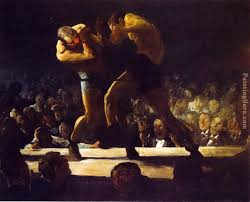 club night painting george bellows club night art painting