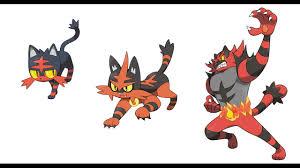 Pokemon Litten Evolution Chart 57 Perspicuous Litten Evolution Pokemon