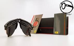 Vintage Sunglasses Ferrari Formula F27 S Col 801 Carbonio Folding 80s Original And Unworn Glasses Ratticollector