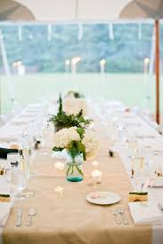 Table Decorations Using Mason Jars 100 best Rehearsal Party images on Pinterest Table runners 84