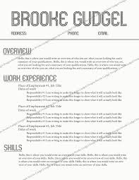 Gmail Resume Templates Retro Resume contact brookegudgelgmail rush sorority 1