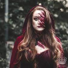 little red riding hood halloween makeup