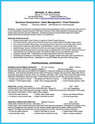 Businesselopment Manager Resume Sample Marvelous Things To Write