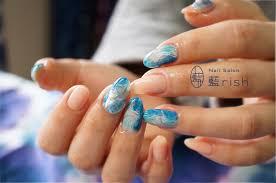 伝統工芸ネイル 青の糸 ネイルサロン 藍rish