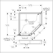 corner shower stall dimensions. Polymarble Corner Shower Stall Dimensions G