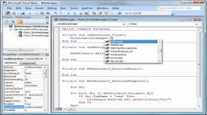 Resume Next Visual Basic 6 Resume For Study