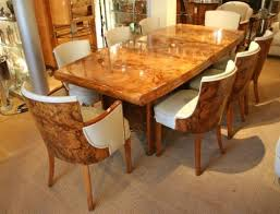 artdeco furniture. A Grand Example Of An Art Deco Dining Table And Matching Chairs From The 1930s Artdeco Furniture