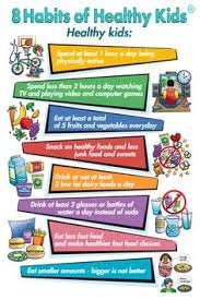 Chart On Healthy Habits 38 Best Healthy Habits For Kids Images Healthy Habits For